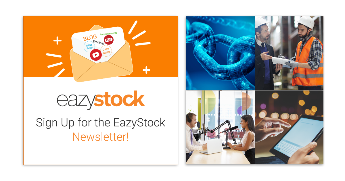 Sign up for EazyStock Newsletter