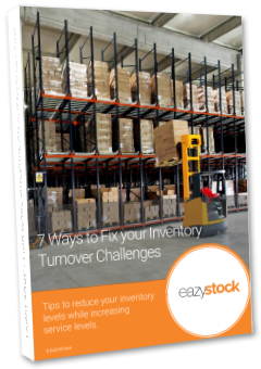 eBook - 7 Ways to Fix Your Inventory Turnover Challenges