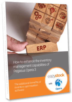 eBook How to enhance the inventory management capabilities of Pegasus Opera 3