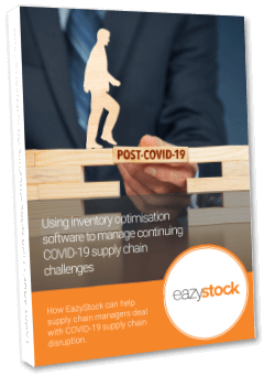 eBook - Using inventory optimisation software to support your supply chain recovery plan